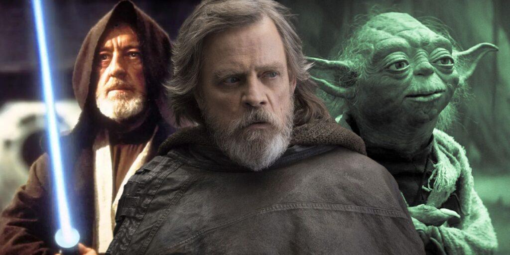 Obi Wan, Luke e yoda