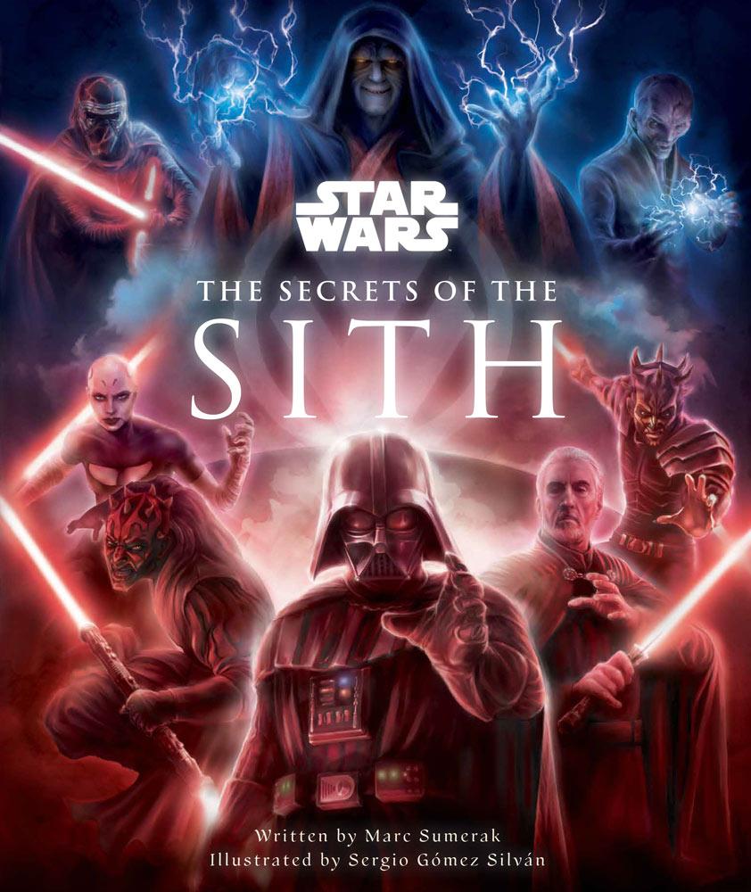copertina secrets of the sith