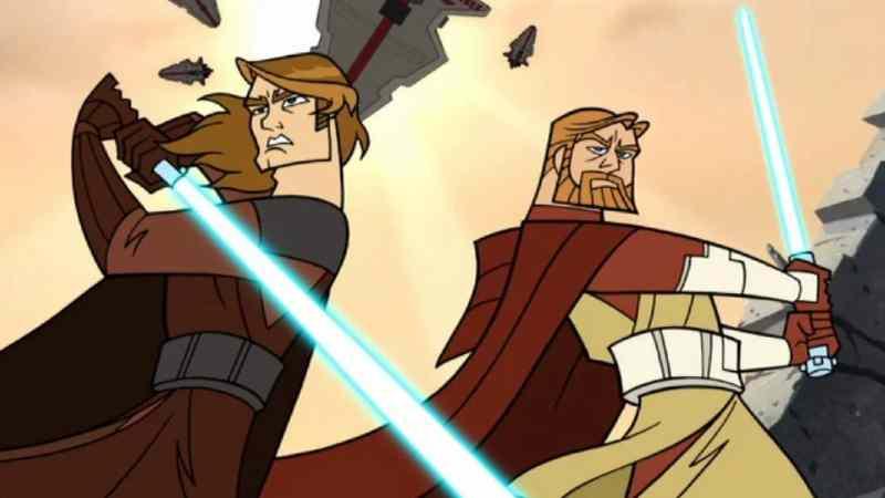 clone wars 2003 su Disney Plus