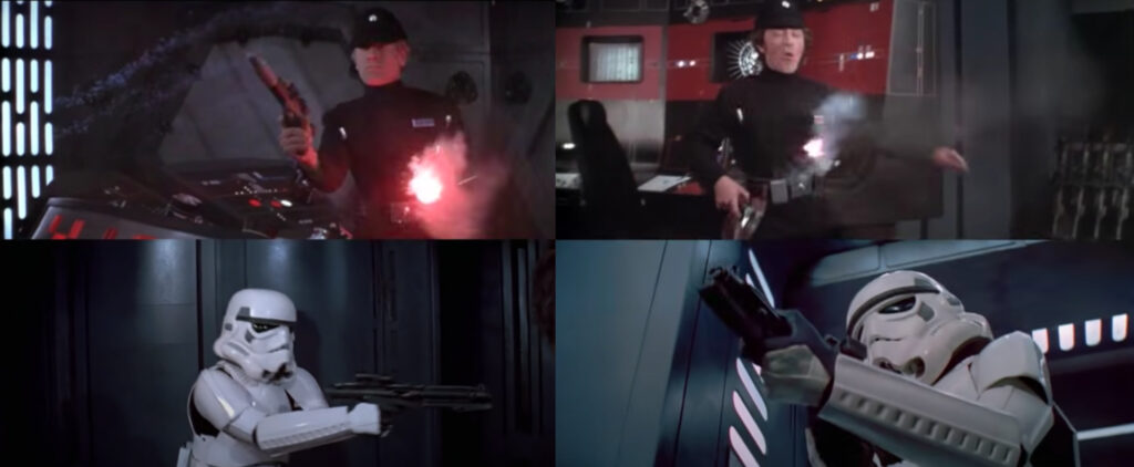 censura spari ufficiali imperiali