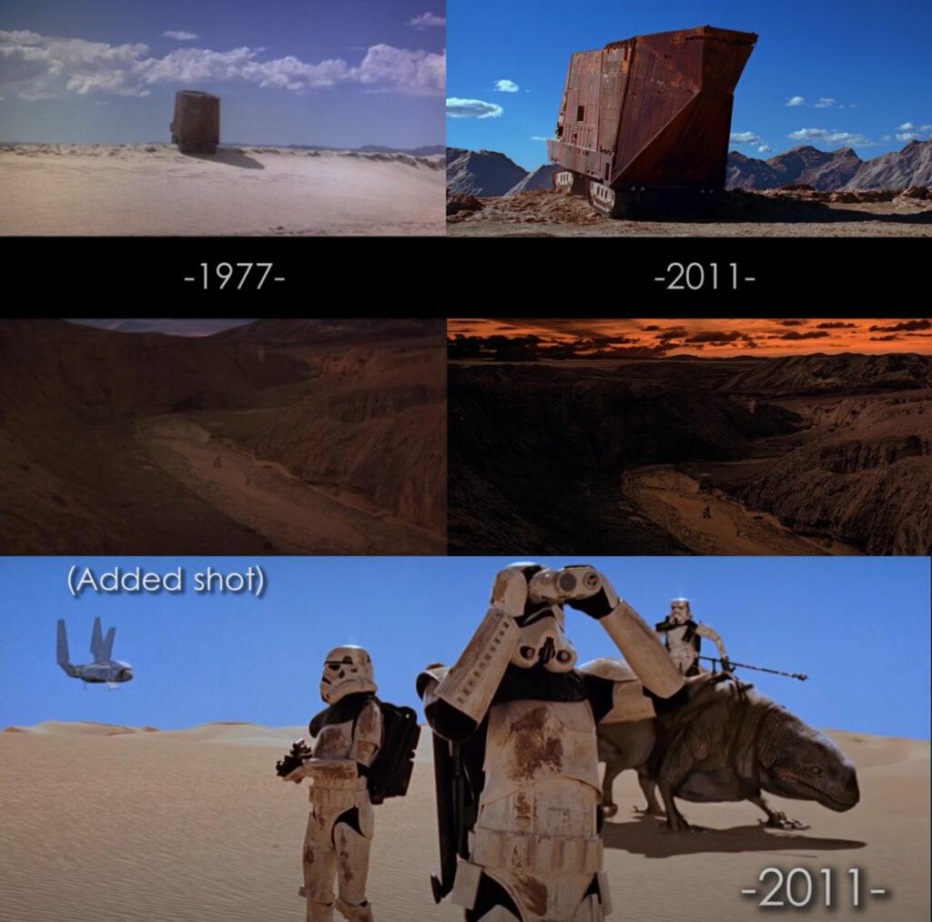 episodio IV paesaggi tatooine