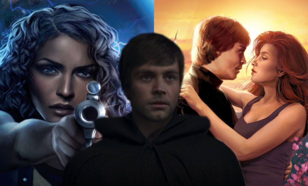 storia d'amore Luke Skywaker