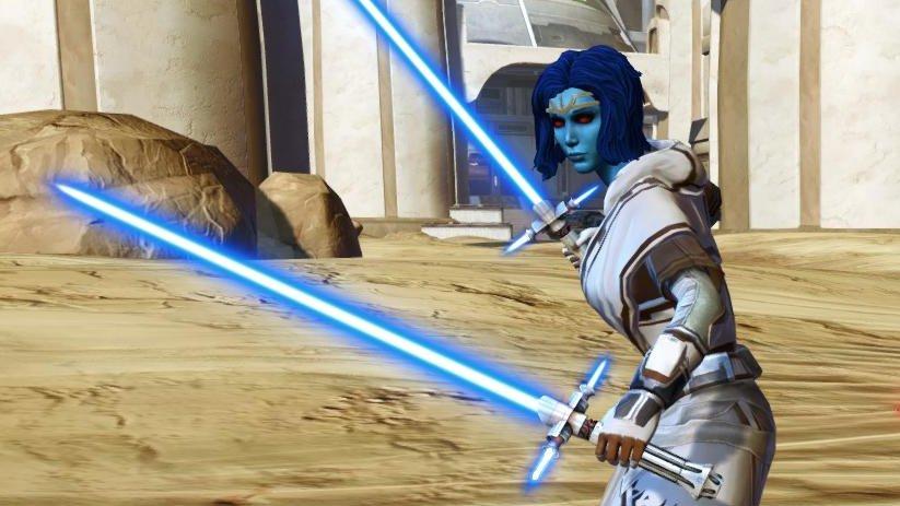 spade laser con guardia star wars