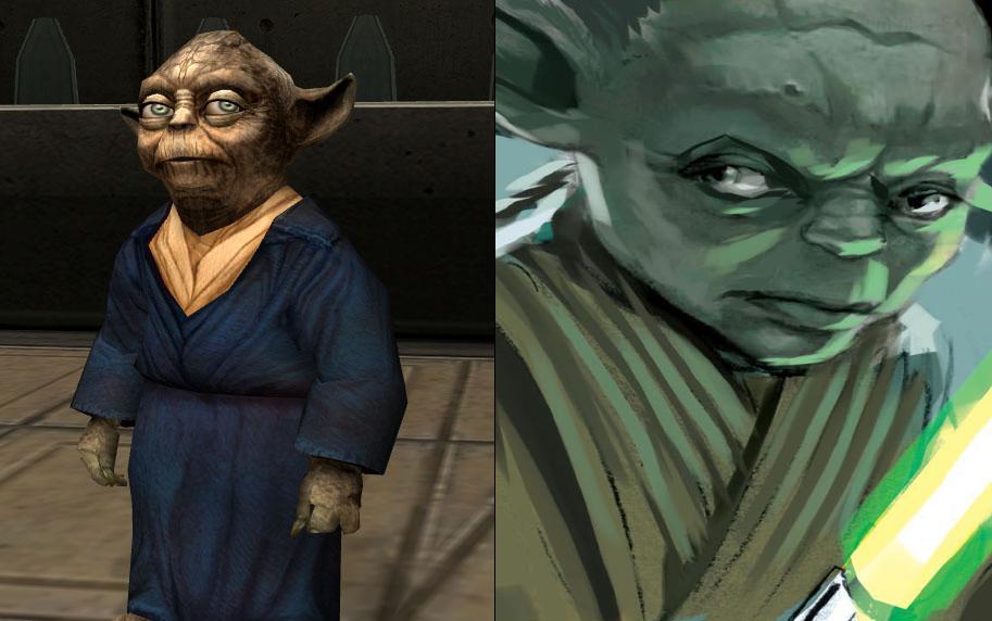membri della specie di Yoda nel legends