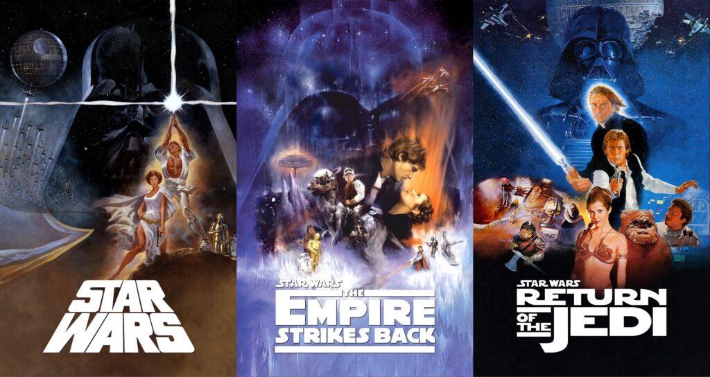 Poster della trilogia originale