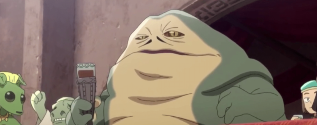 Jabba in star wars visions