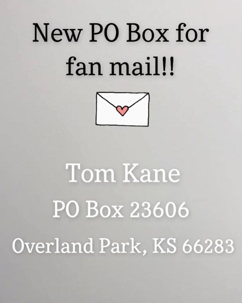 tom kane casella postale